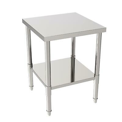 24x24x32 Commercial Stainless Steel Food Prep Work Table Without Back Board