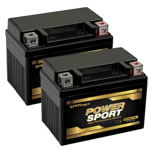2 Pack -YTX4L-BS Battery for ATV Quad Dirt/Pit Bike 50/70/110/125 CC