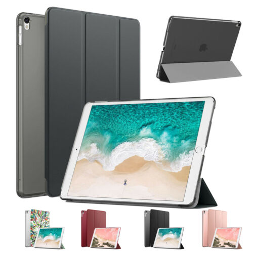 MoKo Slim Smart Stand Case Translucent Frosted Cover for iPa