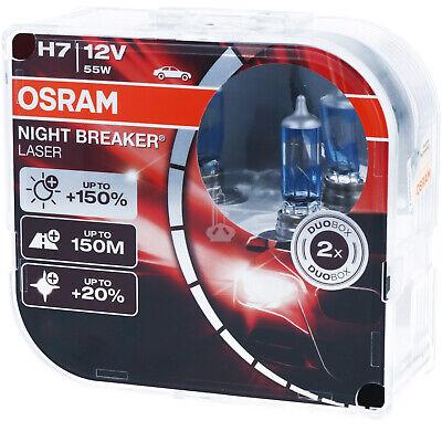 OSRAM H7 Night Breaker LASER Next Generation 150% mehr Helligkeit Power DUO BOX online kaufen