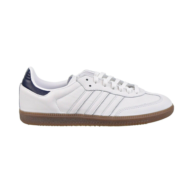 Adidas Samba OG Mens Shoes Footwear White-Collegiate Navy-Gu