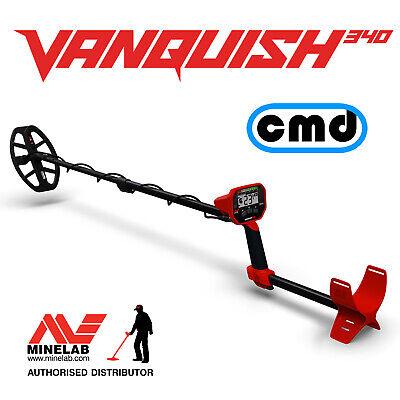MINELAB VANQUISH 340 - Multi Frequency Metal Detector