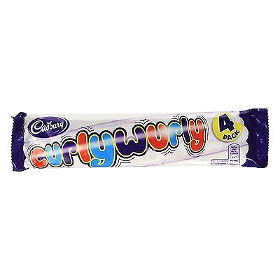 Cadbury Curly Wurly Chocolate Bar 104 g (Pack of 4) Curly Wurly Chocolate Bar