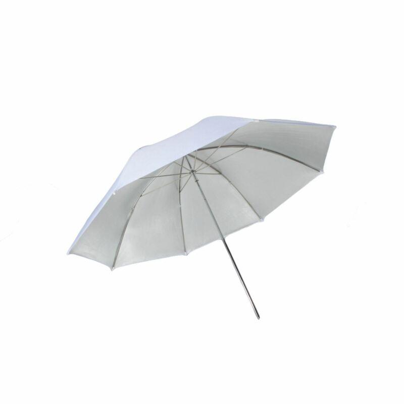 """StudioPRO Studio Photo 40"""" Premium White/Sliver Soft Light Reflective Umbrella"""