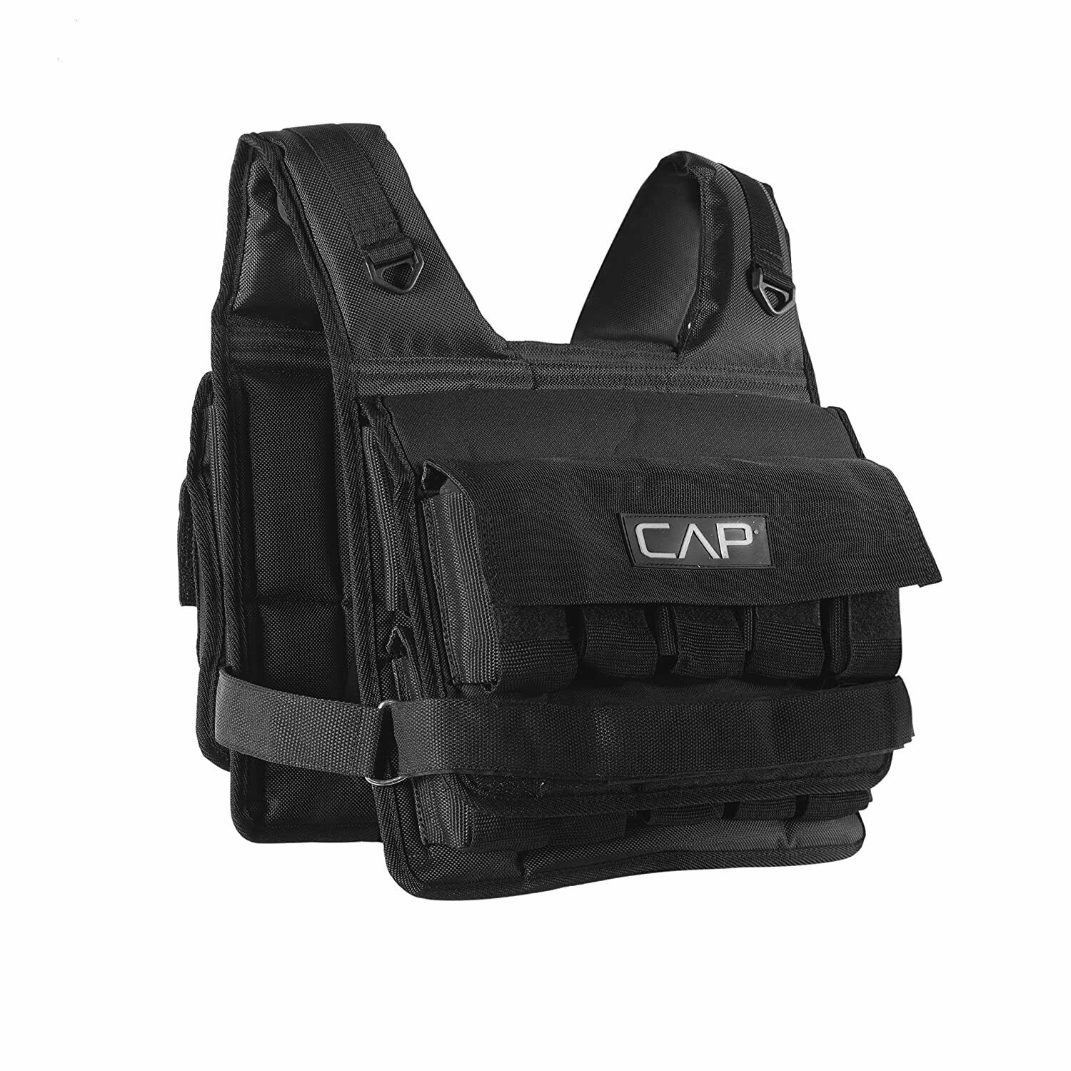 CAP Barbell Short Adjustable Weighted Vest, 20 lb Weights In