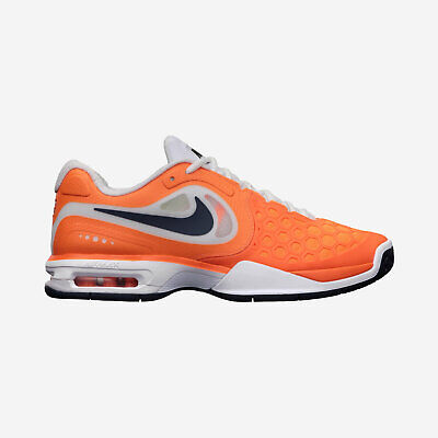 new style bfb41 7949e  NOS  NIKE COURTBALLISTEC 4.3 (487986-841, Men s 8) Orange   Squad Blue    White