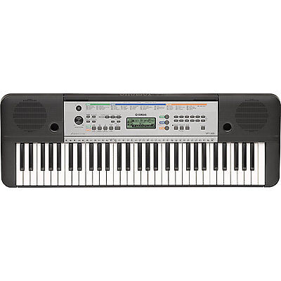 yamaha electric piano keyboard w 61 full size keys ypt 255 ebay. Black Bedroom Furniture Sets. Home Design Ideas