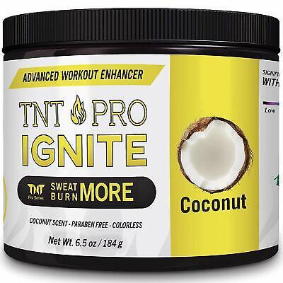 Slimming Cream For Body With Coconut Oil - TNT Pro Ignite Sweat Cream Men Women