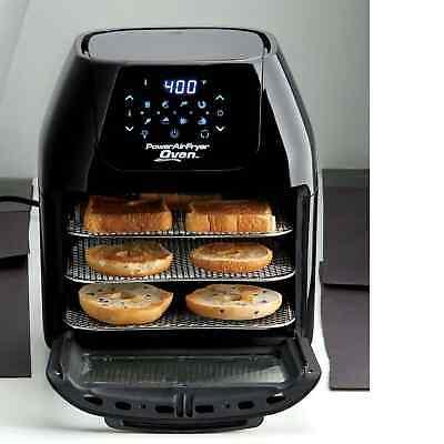 Power Air Fryer Oven 7-in-1 Cooker 6 Quart Plus Dehydrator Best Pro Rotisserie