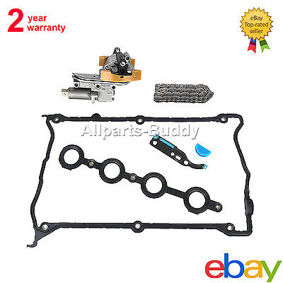 NEW CAM SHAFT TIMING CHAIN TENSIONER SOLENOID GASKET KIT For AUDI A4 TT 1.8T Audi Cam Chain Tensioner