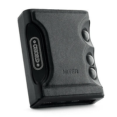 For Chord Mojo, Hand Crafted MITER Stand Leather Case Cover-Black Color
