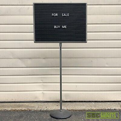 Quartet Adjustable Magnetic Letter Sign Pedestal Board - 20