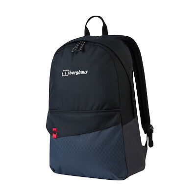 Berghaus 25 Brand Backpack Rucksack Outdoor School Sports Bag Black