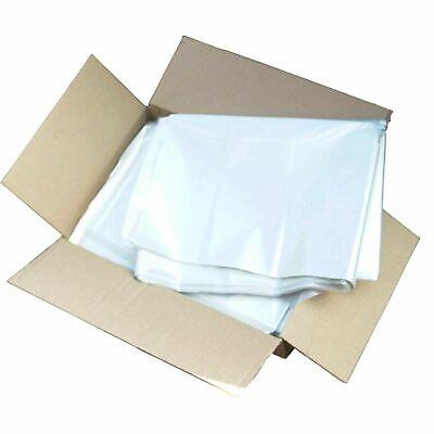 Clear Refuse Sacks Bin Bags - medium strength, large 457x724x965mm (400 off)
