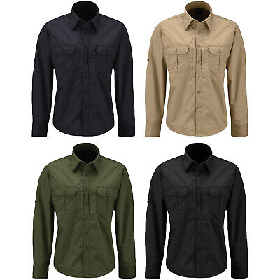 Propper Kinetic Women's Tactical Duty Uniform Stretch Long Sleeve Shirt - (Long Sleeve Stretch Uniform)