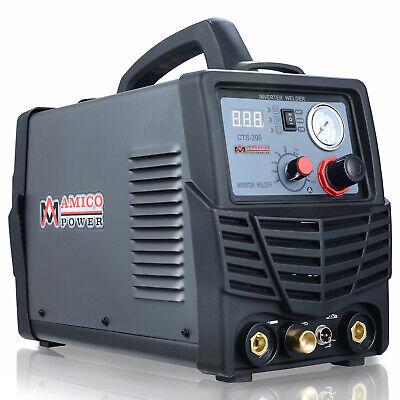 Amico Cts-200 50a Plasma Cutter 200a Hf-start Tig 200a Stick Welder 100250v