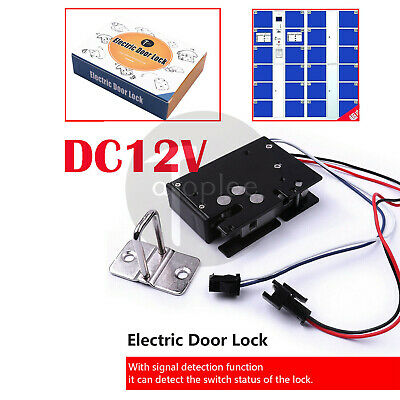 Electric Mortice Strike Lock 12v Dc 3.4a 41w Door High Security Access Control