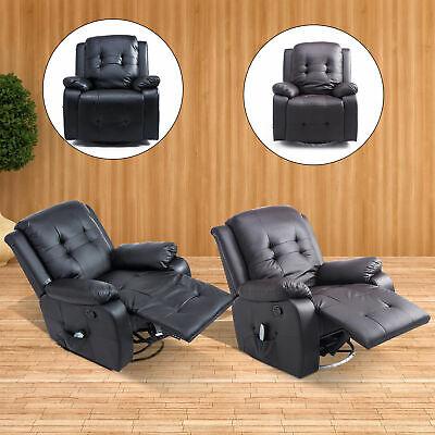 Massagesessel mit Heizfunktion Fernsehsessel Relaxsessel TV Sessel Fernbedienung