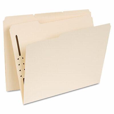 Universal Manila Folders One Fastener 13 Tab Letter 50box 13410