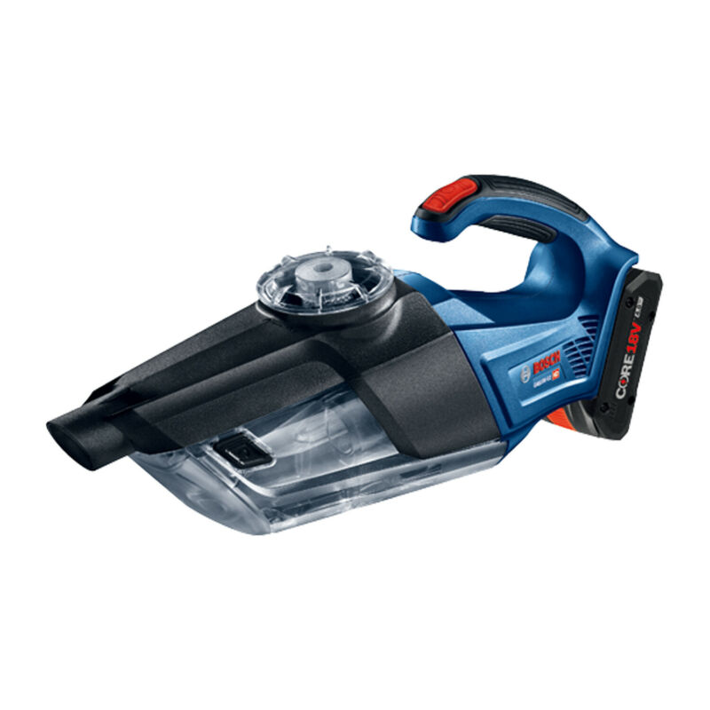 Bosch Tools GAS18V-02N 18 V Handheld Cordless Vacuum Cleaner (Bare Tool), Blue