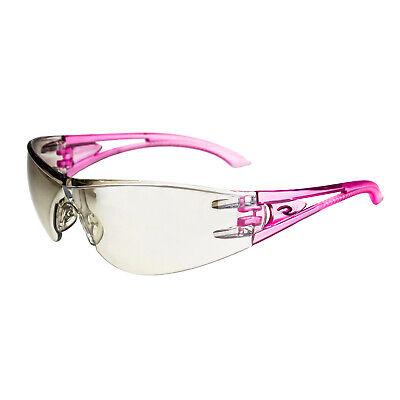 Radians Optima Pink Indooroutdoor Safety Glasses Sun Shooting Z87