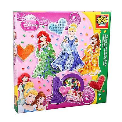 SES 14733 midi Bügelperlen Set Disney PRINZESSINNEN Kleine Geschenkpackung