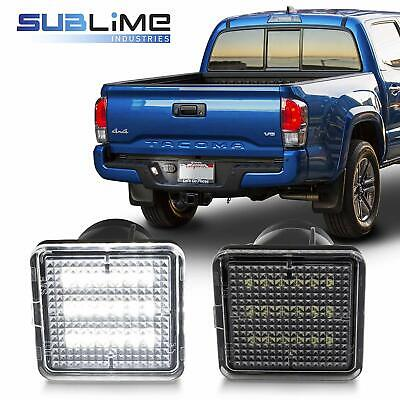 LED Bumper License Plate Light Lamp Fit for Toyota 2016 19 Tacoma 2014 19 Tundra