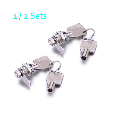 Tubular Cam Lock With 58 Cylinder Keys Alike Pull Drawer Cabinet Toolbox