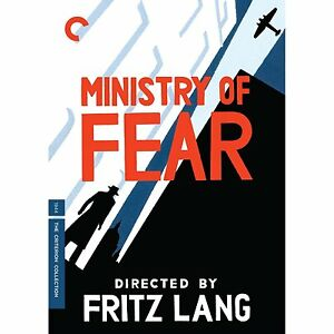 Ministry of Fear (Criterion Collection) DVD Brand New Movie