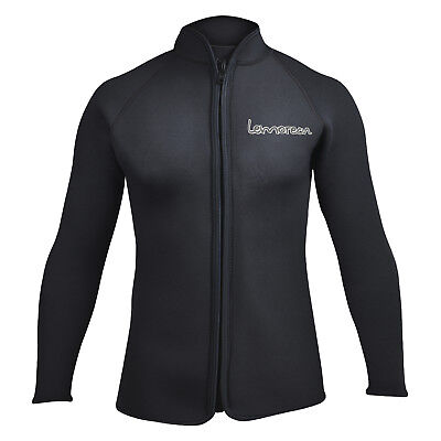 Adult's 3mm Wetsuits Jacket Long Sleeve Neoprene Wetsuits Top Surfing US Size