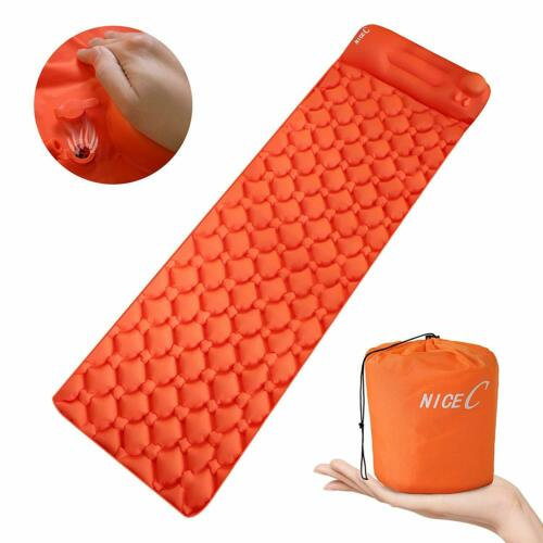 Ultralight Sleeping Pad, Self-Inflatable Camping Mat, Foldable Camping Foam Pad