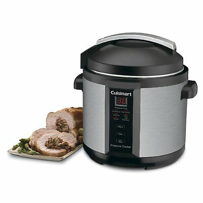 Cuisinart CPC-600 6 Quart 1000 Watt Stirring Pressure Cooker (Stainless Steel)