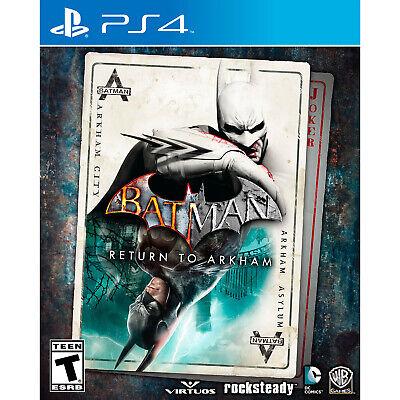 Batman: Return to Arkham PS4 [Factory Refurbished]