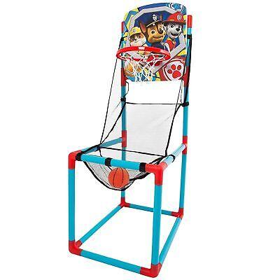 Paw Patrol Junior Basketball Stand Set Net Kids Indoor Outdoor Activity Toy