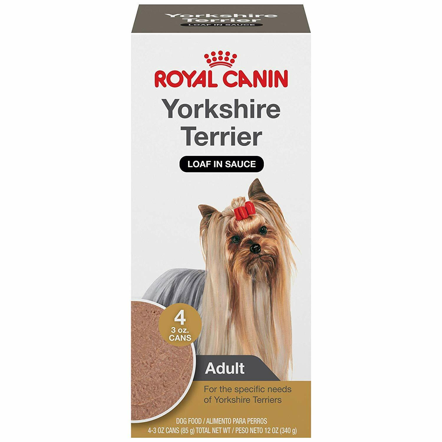 Royal Canin Wet Dog Food Breed Health Nutrition Yorkshire Te