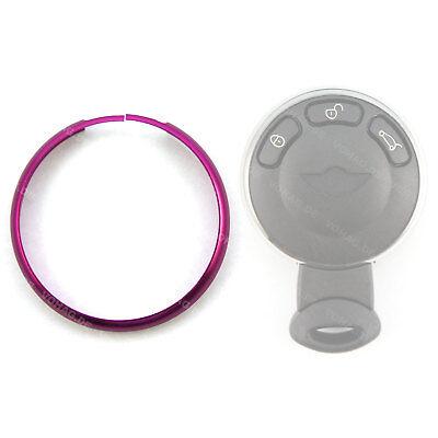 Ersatz Ring Pink Fernbedienung Gehäuse Auto Schlüssel Mini Cooper One Clubman (Mini Cooper Ersatzschlüssel)