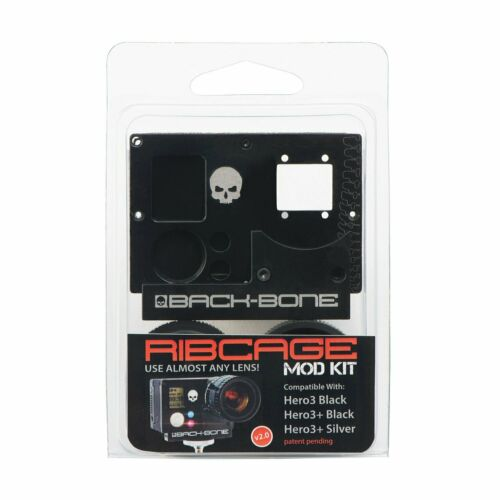 RIBCAGE BACKBONE For GoPro HD Hero3+ Black Silver Camera Modify Hotrod Your Cam