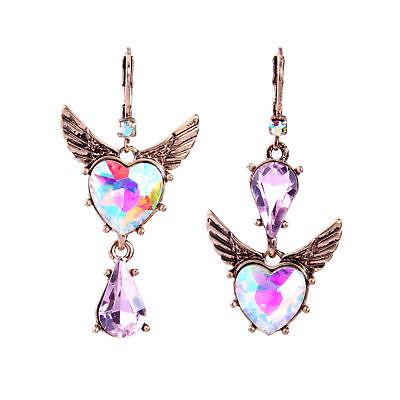 Pink Crystal Heart (Betsey Johnson