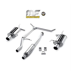 magnaflow 1998 2002 honda accord lx ex 3 0l v6 catback exhaust system. Black Bedroom Furniture Sets. Home Design Ideas