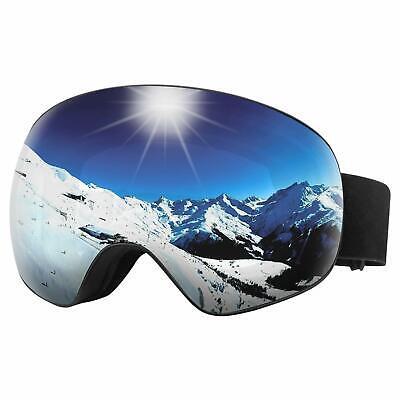 Snow Ski Goggles Choice for Men and Women Over The Glasses Frames Anti Fog Spher