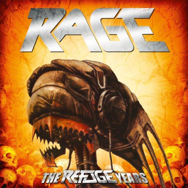 RAGE - THE REFUGE YEARS (ALBUM-BOX/FAN.BOX) 10 CD NEU