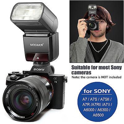 Camera Flash - Neewer 2.4G HSS TTL  Wireless Master Slave Flash Speedlite for Sony A7 A7R A6000