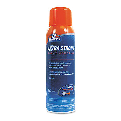 Elmers Extra-strength Spray Adhesive 10 Oz Aerosol E455