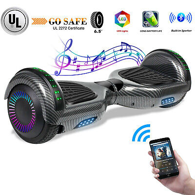 "6.5"" Hoverboard Bluetooth Electric Self Balance Scooter All Terrain Without Bag"