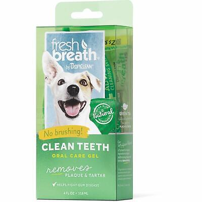 TropiClean Fresh Breath Clean Teeth Gel for