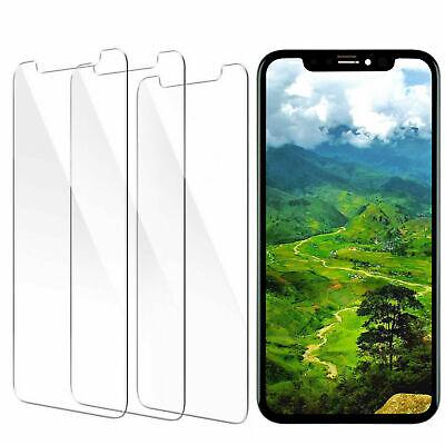 3x Schutzfolie iPhone 11 Pro Max 6 7 8 Plus Schutzglas Hartglas Displayschutz 9H