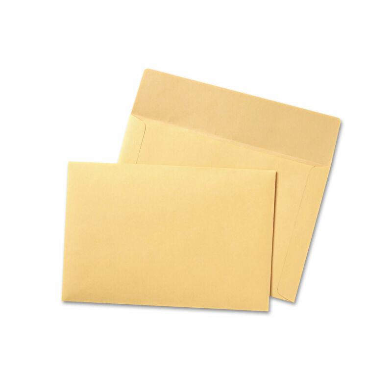 Quality Park Filing Envelopes 9 1/2 x 11 3/4 3 Point Tag Cameo Buff 100/Box