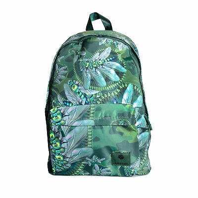 Pretty Green Mens Katie Eary Toria Backpack in Green - One Size