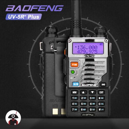 Baofeng UV-5R Plus Two way Radio VHF UHF Dual Band 5W A/B VOX FM Transceiver