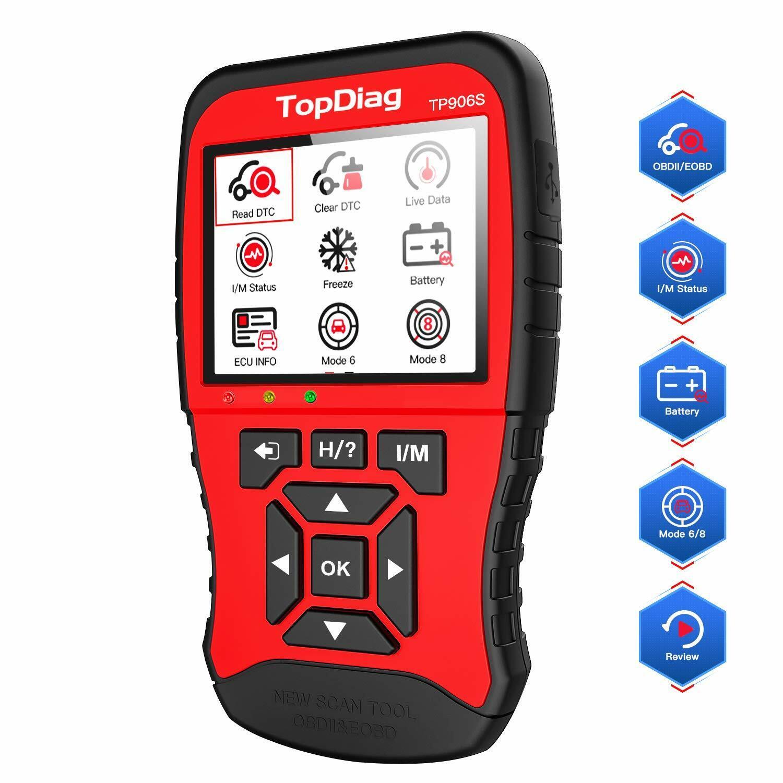 Topdiag Tp906s New Generation Obd2 Scanner Enhanced Obdii